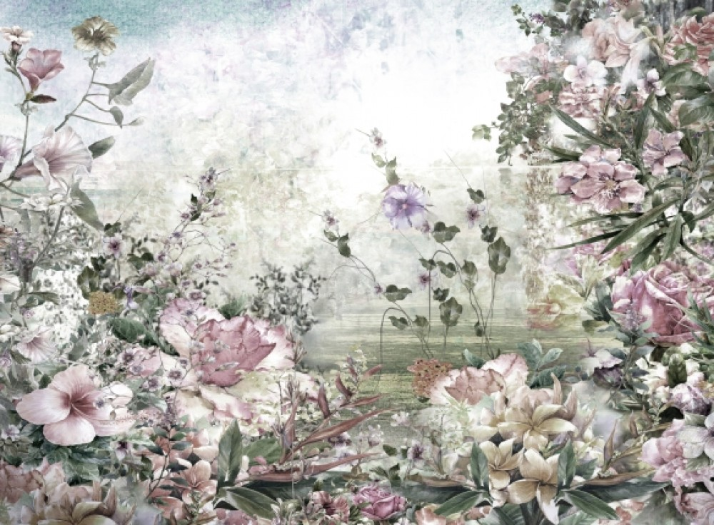 Fototapeta Biały Ogród