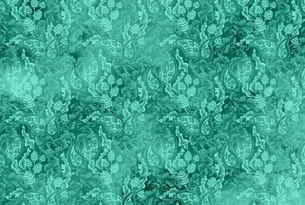 Fototapeta kwiaty zielone tło