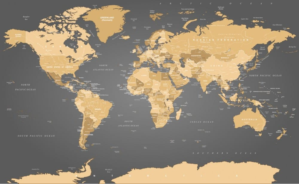 Fototapeta Mapa świat