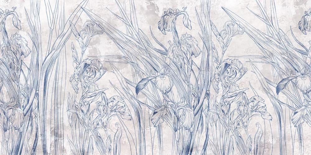 Grunge Iris A2