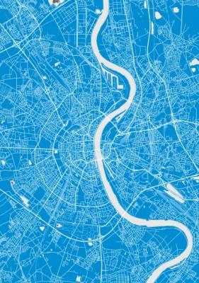 Plakat mapa