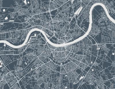 Fototapeta Plan Miasta