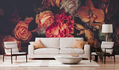 Bukiet Kwiatowy Vintage