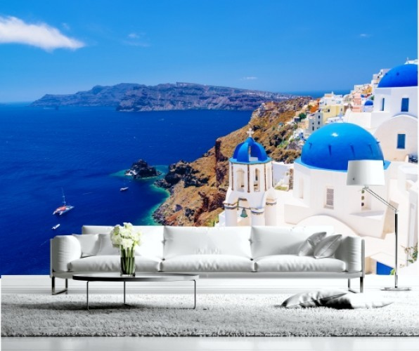Fototapeta Santorinir Gracja